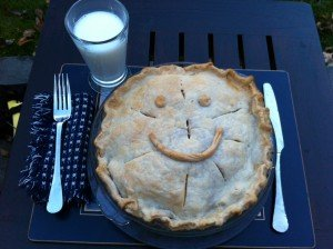 What we really want to do with apple pie, right?