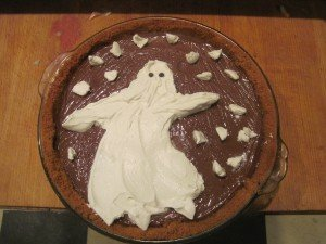 Snow ghost pie pre ghost